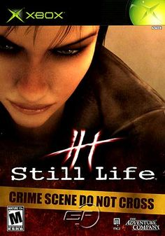 Title: Still Life Publisher: Dreamcatcher Platform: XboxGenre: Action AdventureRelease Date: 6/6/2005Overview: Modern Chicago and 1920s Prague combine in the mystery game Still Life. You play as Victoria McPherson, a young FBI agent, and her grandfather, Gustav McPherson. You're investigating a serial murder case that's strikingly familiar to another serial murder case in Prague 75 years ago. To unravel this mystery, you'll need topnotch forensic skills as you comb through crime scenes, ...