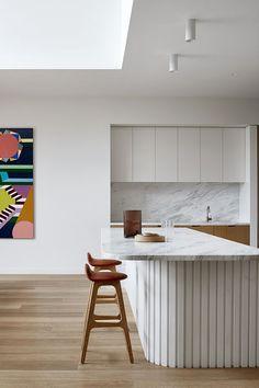 Deco Design, Küchen Design, House Design, New Kitchen, Kitchen Dining, Kitchen Decor, Kitchen Ideas, Timber Kitchen, Kitchen Cabinets