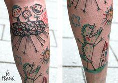 #tattoofriday - Miriam Frank, Alemanha;
