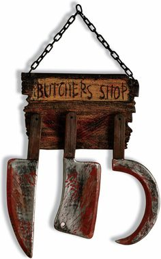 Butcher Shop Sign from Buycostumes.com