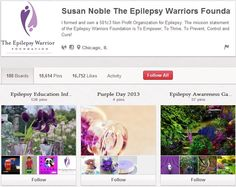 Susan Noble The Epilespy Warriors Foundation Epilepsy, Non Profit, Warriors, The Cure, Foundation, Organization, Activities, Getting Organized, Organisation