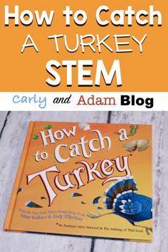 How to Catch a Turkey STEM Activity — Carly and Adam - ThanksGiving Autumn Activities, Stem Activities, Teamwork Activities, Kindergarten Stem, Thanksgiving Preschool, Thanksgiving Feast, Stem Challenges, Engineering Challenges, Stem Projects