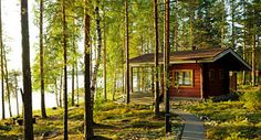 Many Finns spend Midsummer at a waterside cottage where they can swim, relax and visit the sauna. Finland