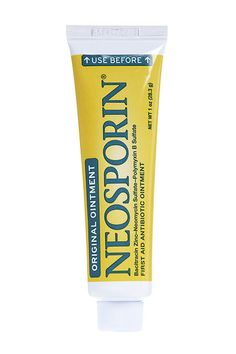 """When I feel a pimple sensation, or even if I have a full-blown zit situation, I rub on a small amount of Neosporin. Nine times out of 10, the next morning, it's pretty much gone. My old Bliss facialist told me the trick, and I've been using it ever since. I have no idea why or how it works; all I know is it's magic. Kinda like Windex in My Big Fat Greek Wedding."" — Michelle Chen, VP of ad operations"