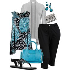 """""""Spring Time - Plus Size"""" by kerimcd on Polyvore"""