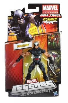 Image result for marvel legends x force wolverine
