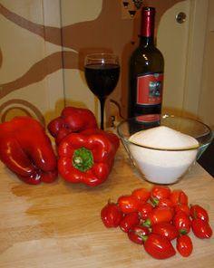 frizzi e pasticci: Marmellata di peperoni e peperoncini