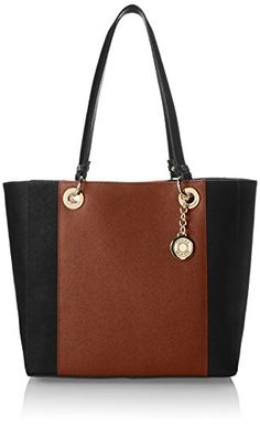 Tommy Hilfiger TH Stripe Colorblock Saffiano Shoulder Bag,Black/Chestnut,One Size Tommy Hilfiger http://www.amazon.com/dp/B00J6ALN1U/ref=cm_sw_r_pi_dp_jl.Xtb0J0G1959QD