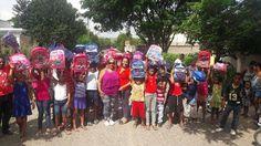 Círculo de Locutores Dominicanos y Escuela Nacional de Locución hacen donativos de escolares