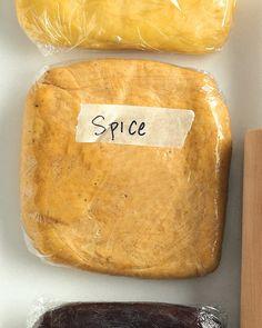 Spice Cookie Dough