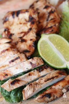 This Garlic Soy & Lime Chicken Marinade is by far, my favorite chicken marinade! The soy in the marinade acts as a brine and makes this chicken come out incredibly juicy! Garlic Lime Chicken, Lime Marinade For Chicken, Chicken Marinades, Marinated Chicken, Chicken Recipes, Grilled Chicken, Chicken Meals, Turkey Recipes, Chicken Salad