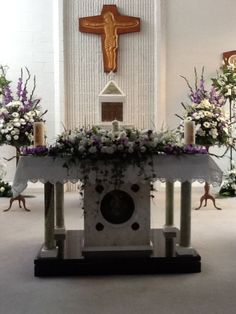Church flowers: