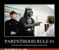 I would have had so many worlds killed off as a child if my mom went by this rule.