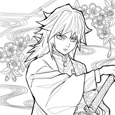 Art Drawings Sketches, Kawaii Drawings, Easy Drawings, Witch Coloring Pages, Fairy Coloring, Anime Demon, Manga Anime, Anime Art, Anime Character Drawing
