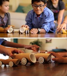 Australian based designers Made of Bamboo, have designed a collection of eco-friendly bamboo toy cars that come in four designs.
