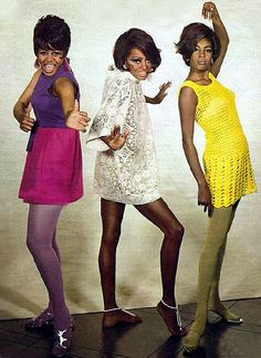 The Supremes - Cindy Birdsong, Diana Ross and Mary Wilson