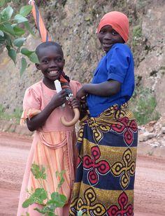 Girls from Rwanda