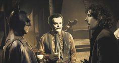 Michael Keaton, Jack Nicholson and Tim Burton