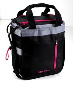 Insulated lunch bag cooler Tote 12 can Adjustable straps insulated PEVA Lining #CoolPack