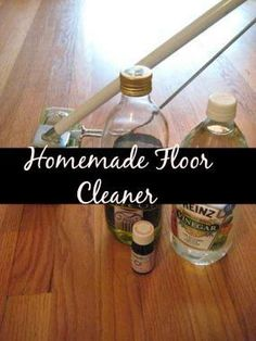 Homemade Natural Floor Cleaner  For the conscious consumer - Here are three recipes for easy natural floor cleaners you can make yourself. Keep your floor child and pet healthy.