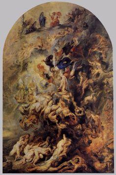 RUBENS Pieter Paul - Flemish (Siegen 1577-1640 Antwerp) - The Small Last Judgement