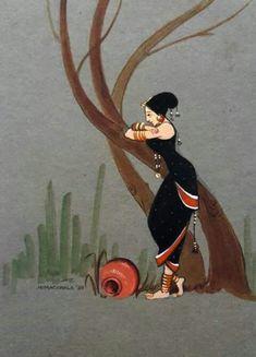 41 best Ideas for modern art design artworks paintings Madhubani Art, Madhubani Painting, Painting Art, Painting Lessons, Painting Tips, Fabric Painting, African Art Paintings, Modern Art Paintings, Oil Paintings