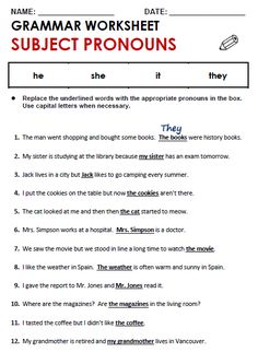 6 Subject and Object Pronouns Exercises Subject and Object Pronouns All Things Grammar √ Subject and Object Pronouns Exercises . 6 Subject and Object Pronouns Exercises. Subject and Object Pronouns All Things Grammar Pronoun Worksheets, English Worksheets For Kids, Pronoun Activities, Number Worksheets, Free Worksheets, Alphabet Worksheets, Prepositions, Grammar Exercises, English Exercises