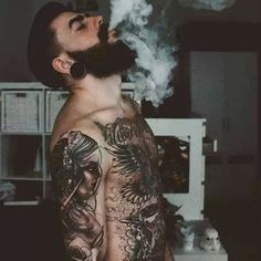 Beard n Tattoos