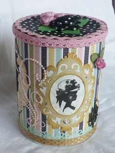 Altered shabby chic can