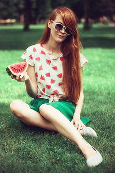 Frigidný melón. | ♥ D.