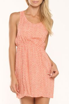 Emma Dress In Coral