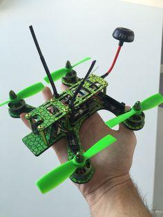Tweaker180 quadcopter. Custom template sticker wrapped. The name... Venom.