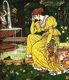 The Frog Prince and other stories, illustrated by Walter Crane.
