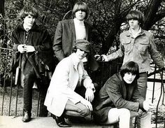 The Byrds photographed in 1965.