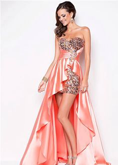 Shop short prom dresses and short formal gowns at PromGirl. Short prom dresses, formal short dresses, semi-formal short dresses, short party dresses for prom, and short dresses for prom Blush Prom Dress, Blush Dresses, Elegant Dresses, Pretty Dresses, Strapless Dress Formal, Formal Dresses, Bridesmaid Dress, Dress Prom, Gold Dress