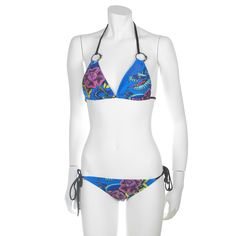 Ed Hardy Dragon Rose Womens Swimwear Set - Turquoise - My collection from top #designers