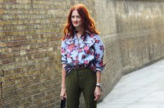 Feeling Floral - London Fashion week