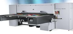The Benefitz HP Scitex Flatbed Digital Printing machine has a three metre by two metre bed and prints on virtually any substrate that's thick or less. Digital Printing Machine, Office Desk, Digital Prints, Meet, Furniture, Home Decor, Digital Printer, Fingerprints, Desk Office