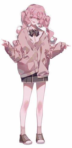 Anime Drawings Sketches, Cute Drawings, Anime Art Girl, Manga Art, Pretty Art, Cute Art, Anime Poses Reference, Estilo Anime, Chica Anime Manga