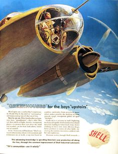 Shell ad during WWII