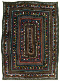 Ralli quilt, Saami People, probably made in Matli, Badin, Sindh, Pakistan, circa 1980-2000, purchase made possible through James Foundation Acquisition Fund, 83 x 57 in, IQSCM 2008.027.0029
