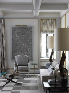 Beautiful New York apartment designed by Jean-Louis Deniot  Interiors | Interior design #homedecor #designideas