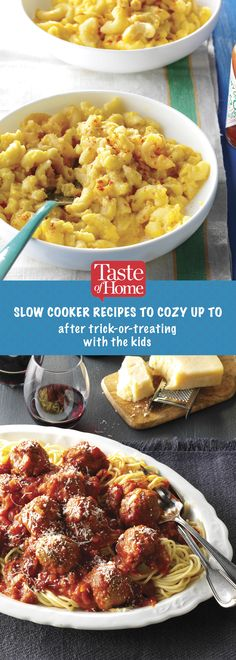 Slow Cooker Recipes to Cozy up to After Trick-or-Treating with the Kids