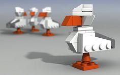 Lego seagulls