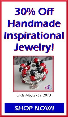 Ends today! 30% OFF Handmade Jewerly Memorial Day Sale! www.cicinspireme.etsy.com