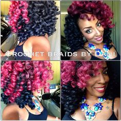 Marley hair crochet braids. The best protective style ever