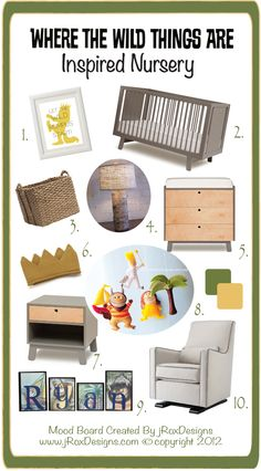 Littles girls nursery for where the wild things are