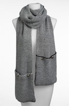 A warm scarf is required for a cold winter, and this one can even hold your smartphone while on the go. MICHAEL Michael Kors Pocket Scarf via Nordstrom