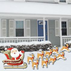 Christmas Yard Card! FREE SHIPPING!