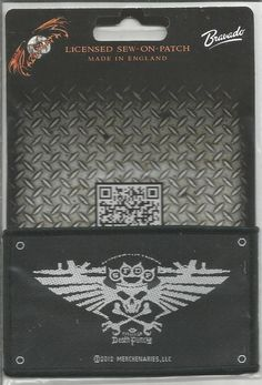 FIVE FINGER DEATH PUNCH Wings Of War Woven Patch Sew On Official Band Merch